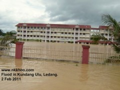 STTA, my former secondary school in the deep water.