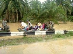 Army evacuated kampong folks