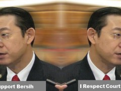 Lim Guan Eng double face