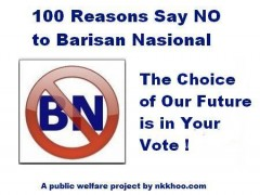 100 reasons say no to bn