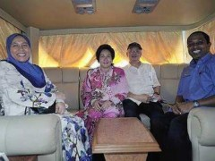 Bus used by PM Najib is a deluxe type