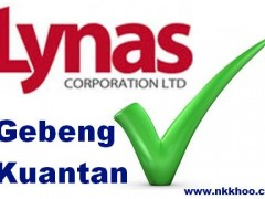 say yes to Lynas Gebeng Kuantan