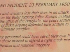 bukit kepong incident text