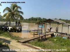 Gersik Riverbank Jetty and Boat Renting Center @ 1