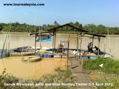 Gersik Riverbank Jetty and Boat Renting Center @ 2