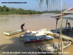 Gersik Riverbank Jetty and Boat Renting Center @ 3