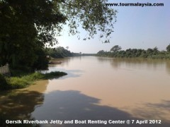 Gersik Riverbank Jetty and Boat Renting Center @ 5