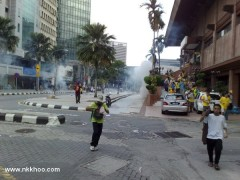 teargas shot at crowd indiscriminately 2