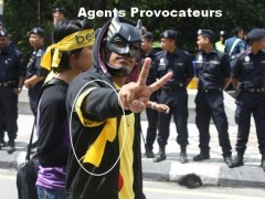bersih agents provocateurs