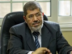 Mohammed Morsi, the Muslim Brotherhood's candidate for the Egyptian presidential runoff
