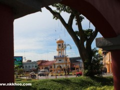 muar nyiru clock tower