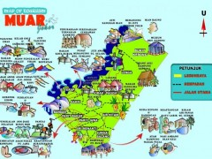muar-tourism-map-in-malay-index