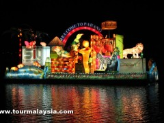1Malaysia International Tourism Night Floral Parade 2012 PIC5