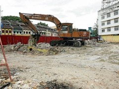 Ipoh Majestic Theatre demolished