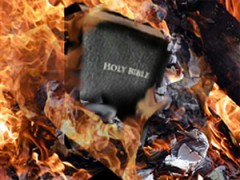 bible burning