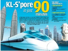KL Singapore high speed rail