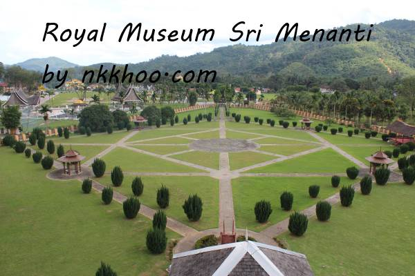 royal museum seri menanti garden