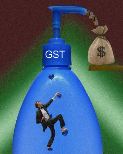 GST steals money