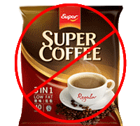 say no to SuperCoffee