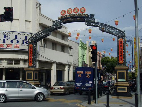 campbell street in Penang
