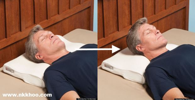 anti-SNORE-pillow