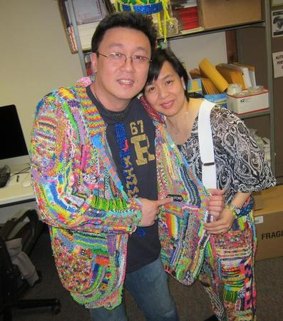 Cheong Choon Ng and his wife.